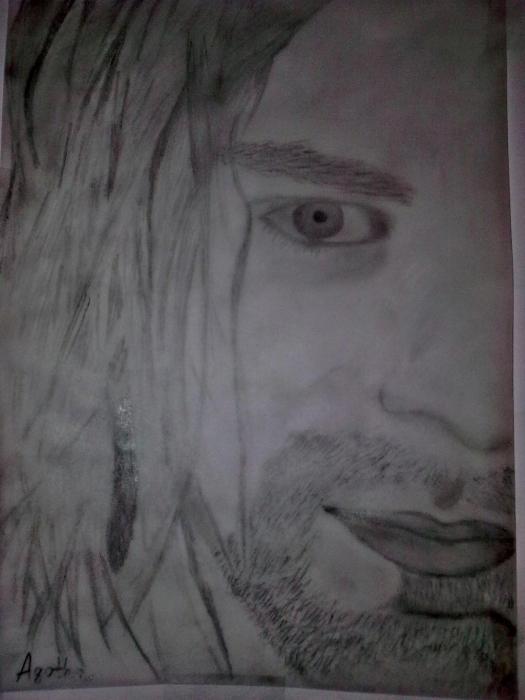 Kurt Cobain by Agotha